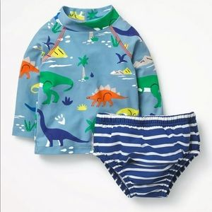 Other - Mini Boden swimsuit 2 pieces 12-18 month